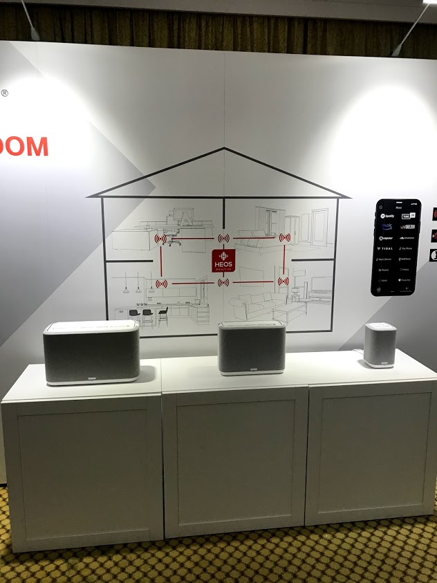 Denon wireless speakers