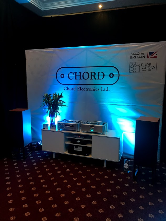 Chord Electronics demo room